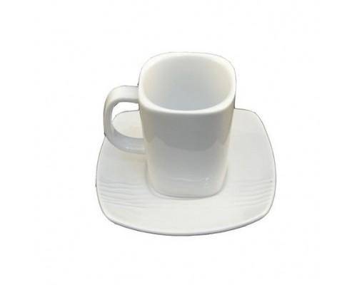 Чашка Helios 1314 HoReCa с блюдцем объем 250 мл.