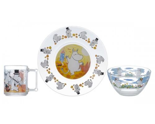 Набор детской посуды ОСЗ Disney Муми-тролли (Н.1914;0193;1542ДЗ Муми-т) PM