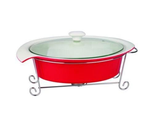 Мармит 1.4 литра Krauff 21-258-002 (Красный)