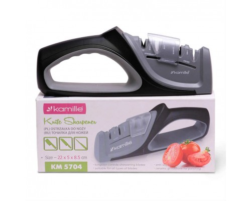 Точилка для ножей 21,5 х 4,5 х 9 см Kamille КМ-5704