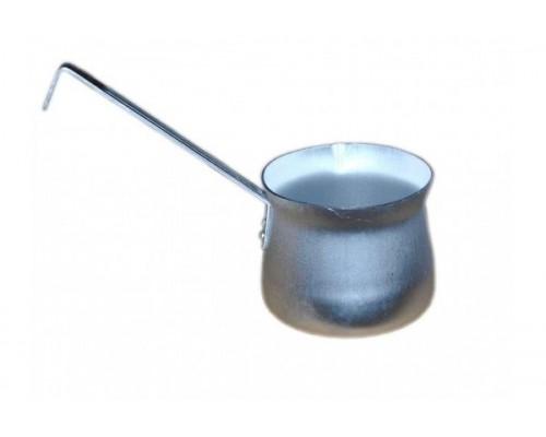 Кофеварка Калитва 19500 объем 0,5 литра алюминиевая.