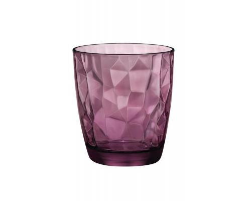 Стакан Bormioli Rocco 302258 Diamond Rock purple объем 390 мл.