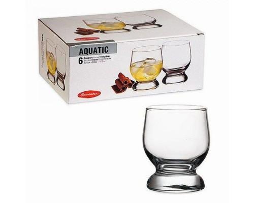 Набор стаканов Pasabahce 42973 Акватик объем 222 мл.