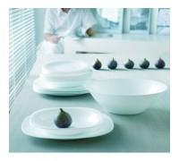 Сервиз столовый Luminarc Carine White 19 предметов 2185 LUM АН