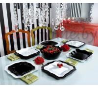 Сервиз Luminarc AUTHENTIC Black & White 19 предметов