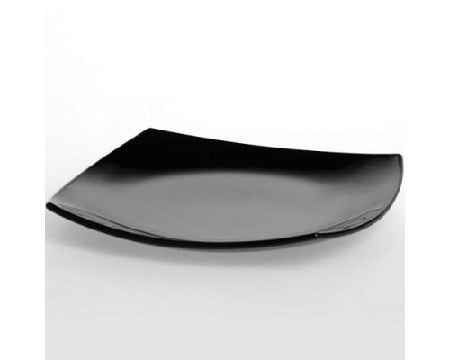 Тарелка Luminarc Quadrato Black десертная 19 см 3670 LUM