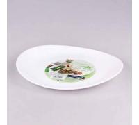 Блюдо овальное Friends Time для стейка 30 см Luminarc 4651 LUM PM