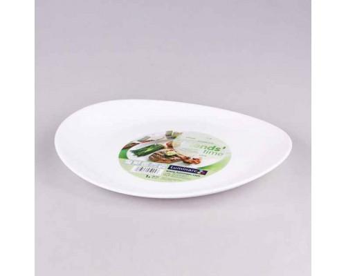 Блюдо овальное Friends Time для стейка 30 см Luminarc 4651 LUM