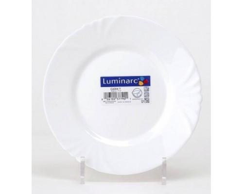 Тарелка десертная 19,5 см Luminarc Cadix круглая 4129 LUM SP PM