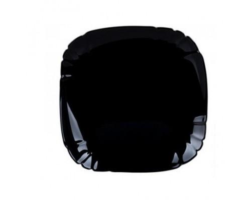 Тарелка Luminarc Lotusia Black глубокая квадратная 20,5 см 7064P LUM PM