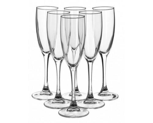 Набор бокалов для шампанского 170 мл 6 шт Luminarc Signature эталон H8161/1