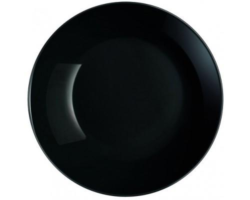 Тарелка Luminarc Diwali Black глубокая круглая 20 см 0787P LUM