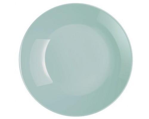 Тарелка Luminarc Diwali Light Turquoise десертная круглая 19 см 2613P LUM