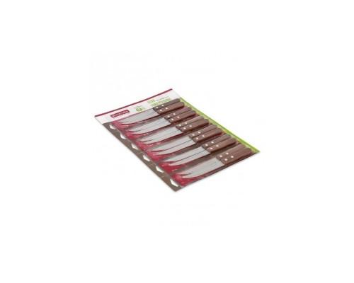 Набор ножей из нержавеющей стали с деревянными ручками 2 предмета лезвие 11,5 см Kamille 5303
