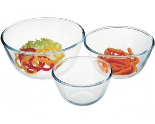 Набор салатников круглых 3 шт Simax 328 Color