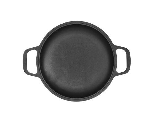 Сковорода порционная чугунная Биол 2042 d-220 мм, h-34 мм, без крышки.