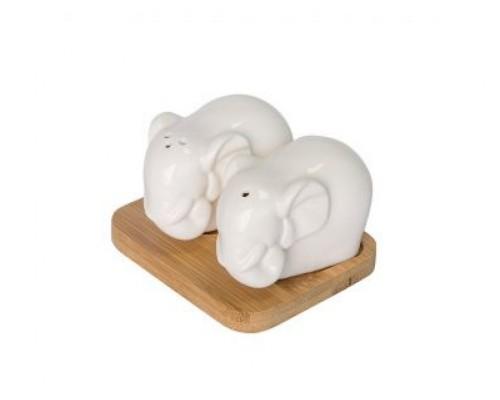 Набор для соли и перца Слоны.