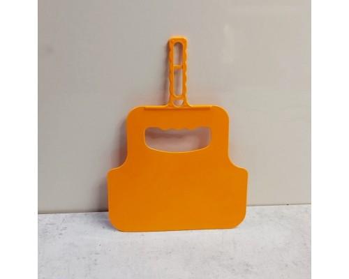 Веер для раздува огня мангала и гриля Горизонт Оранжевый
