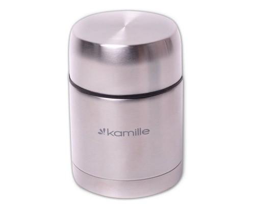 Термос пищевой Kamille 500 мл из нержавеющей стали КМ-2060