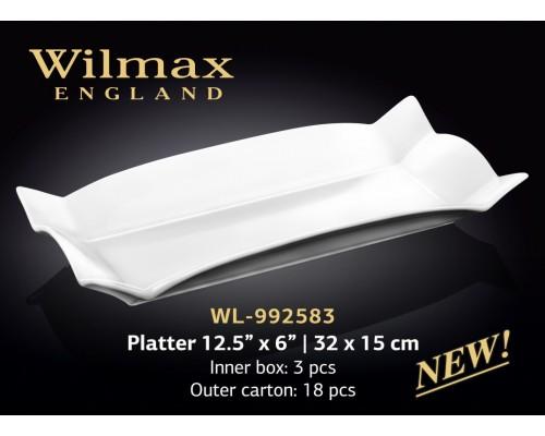 Блюдо Wilmax WL-992583 глубокое фигурное 32 х 15 см
