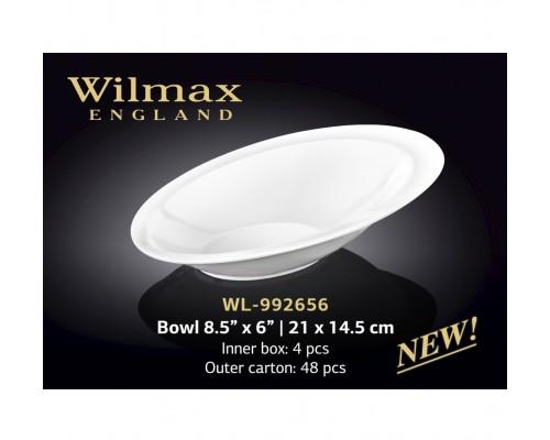 Салатник Wilmax WL-992656 овальный 14,5 см.