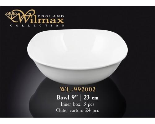 Салатник Wilmax WL-992002 квадратный 23 см.