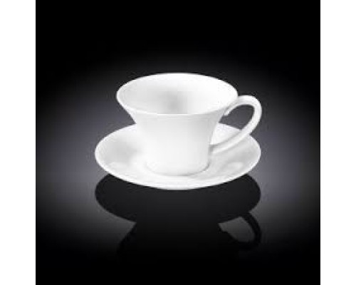 Чашка для капучино 180 мл Wilmax с блюдцем 993169 WIL