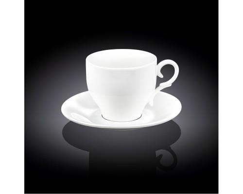 Чашка для капучино 170 мл WILMAX с блюдцем 993104 WIL