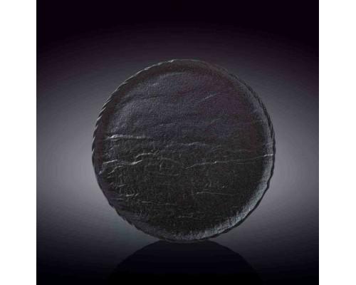 Тарелка круглая 25,5 см SlateStone Black Wilmax WL-661126 / A PM