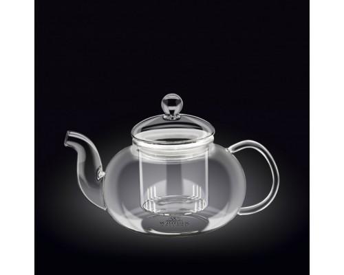 Чайник-заварник Wilmax Thermo 1200 мл с фильтром из стекла 888815 WL
