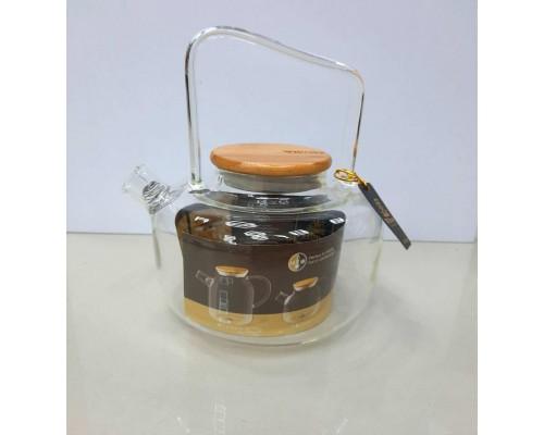 Чайник-заварник Wilmax Thermo 1200 мл с фильтром-спиралью 888822 WL
