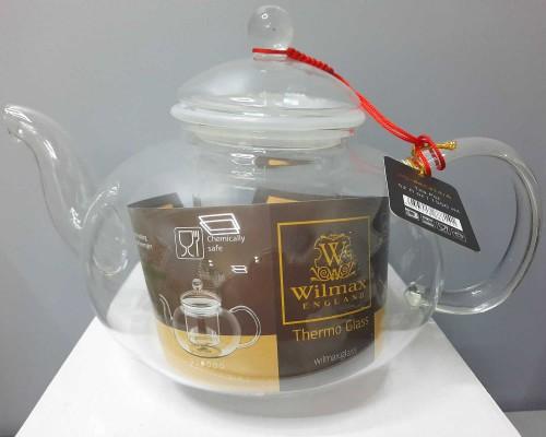 Чайник-заварник Wilmax Thermo 1550 мл с фильтром из стекла 888814 WL PM