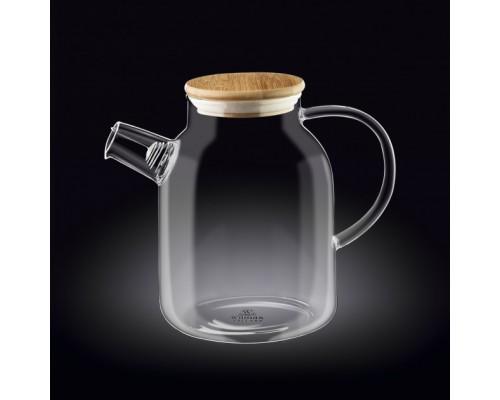 Чайник-заварник Wilmax Thermo 1600 мл с фильтром-спиралью 888811 WL PM