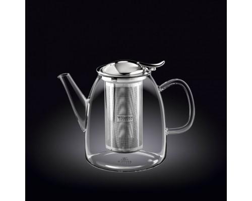 Чайник-заварник Wilmax Thermo 950 мл с фильтром 888808 WL