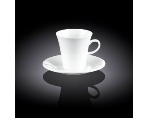 Чашка чайная 210 мл WILMAX с блюдцем 993109 WIL