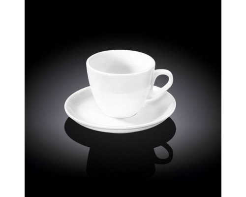 Чашка чайная 190 мл WILMAX с блюдцем 993175 WIL