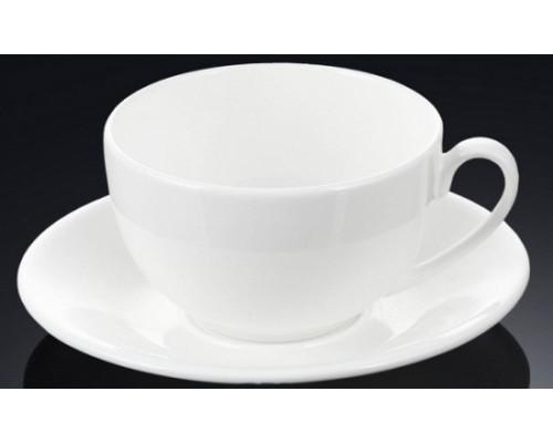 Чашка чайная 250 мл WILMAX с блюдцем 993000 WIL