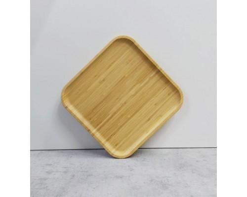 Блюдо Wilmax Bamboo квадратное 23 х 23 см 771022 WL PM