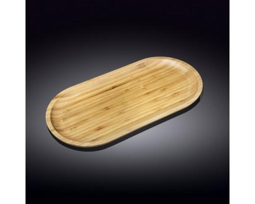 Блюдо Wilmax Bamboo овальное 25,5 х 12,5 см 771058 WL PM