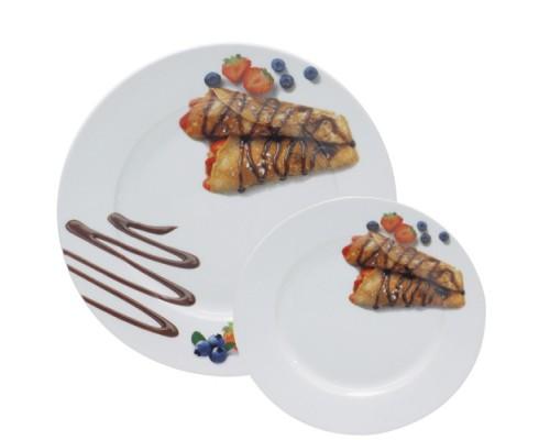 Набор для блинов 7пр S&Т 30834-03 Шоколад