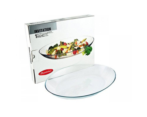 Набор блюд овальных Pasabahce 10355 Invitation Oval диаметр 15 см.