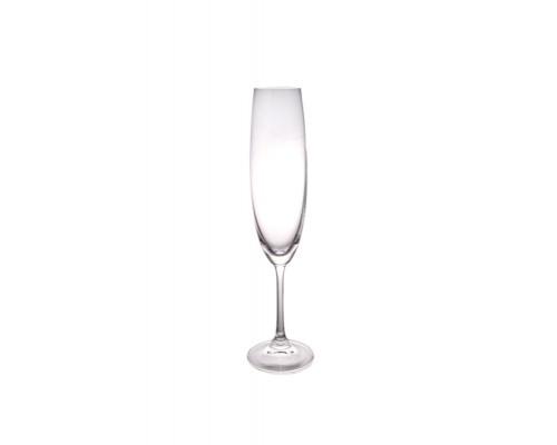 Набор бокалов Milvus (Barbara) 6 шт 250 мл для шампанского Bohemia Crystalite 1SD22 250 BOH PM