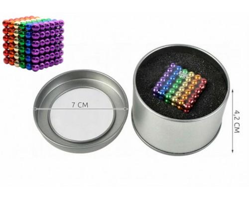 Головоломка Нео Куб 5 мм 216 шариков цветной Neocube 5738 PM