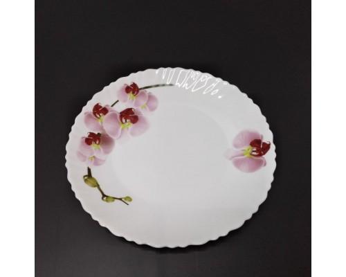 Тарелка десертная Vittora Орхидея 19 см VT-11900