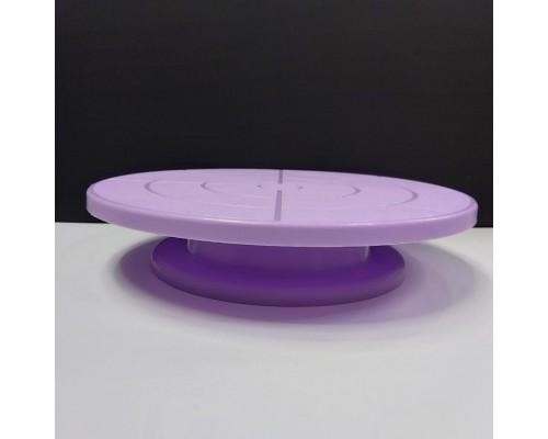 Подставка для торта поворотная A-PLUS d-32 сиреневая (49 К)