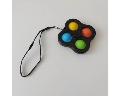 Игрушка антистресс Pop It Simple Dimple Спинер симпл димпл 521-01