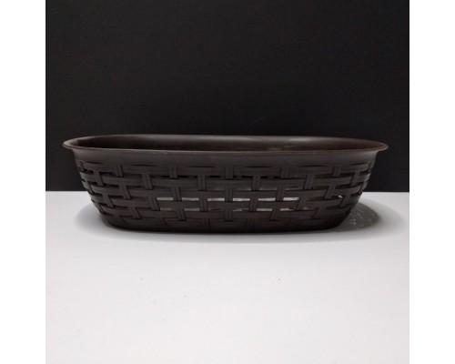Корзина Ротанг Dunya Plastik коричневый 05207