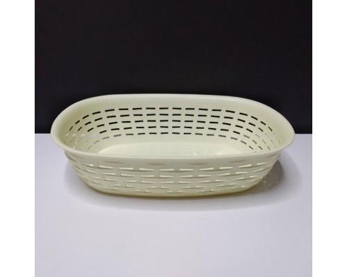 Корзина Ротанг Dunya Plastik лимонный 05207