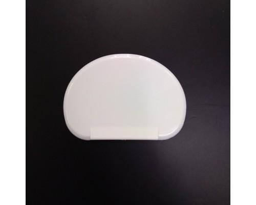 Шпатель кондитерский пластиковый полукруглый 10.5 x 7,5 см SnS