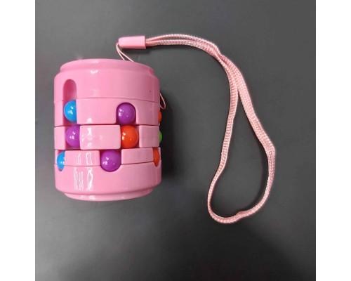 Головоломка антистресс Fidget Cans Cube Розовый